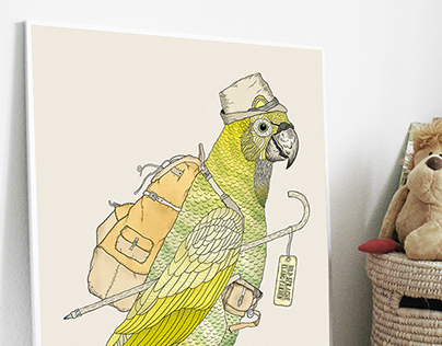 «Hiking Parrot (2012)»