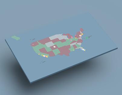 US FraudMap   Interactive Data Visualisation