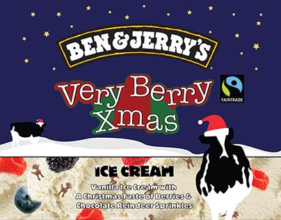 Ben & Jerry's | Very Berry Christmas