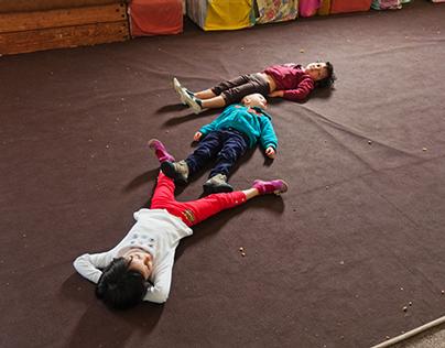 Photo-reportage_Circus School of Gembloux_kids course.