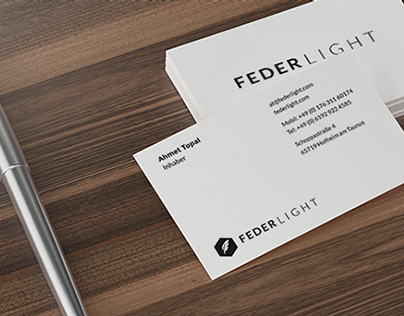 FEDERLIGHT Business Cards Summer 2014