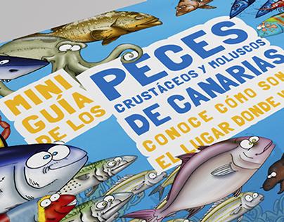 Miniguía de los peces, crustáceos y moluscos de Canaria