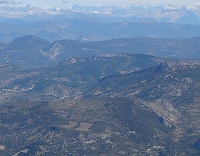 Photographies: Du Mont Ventoux
