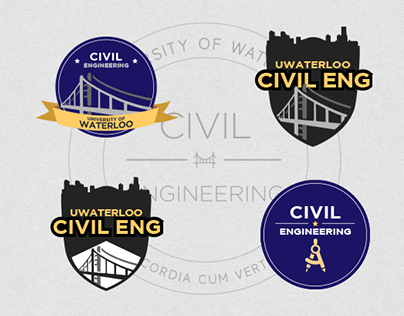 UWaterloo Eng Soc Patch Designs — Civil Engineering