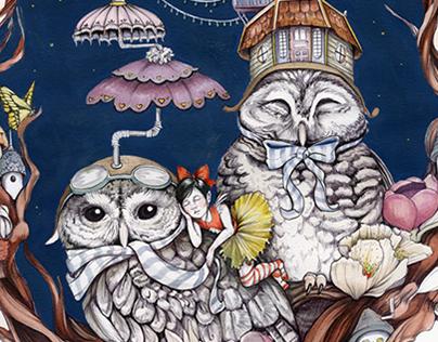 Gloria's Nest - Children's Illustration