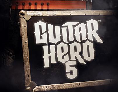 Official Guitar Hero 5 Faceplate Design