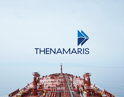 Thenamaris branding elements