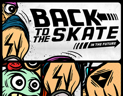 BACK TO THE SKATE x SIMPLEVECTOR