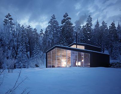 Black Lake vacation cabin