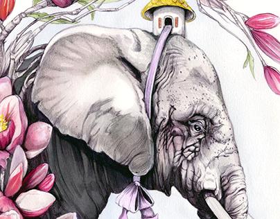 Lucia's Book Nook - Children's Illustration