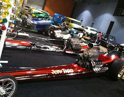1969 Top Fuel Dragster