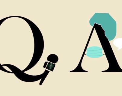 Q&A clipart