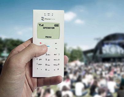 PhoneClone – Semi disposable mobile phone concept