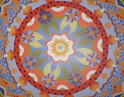 Mandala - wall decorations