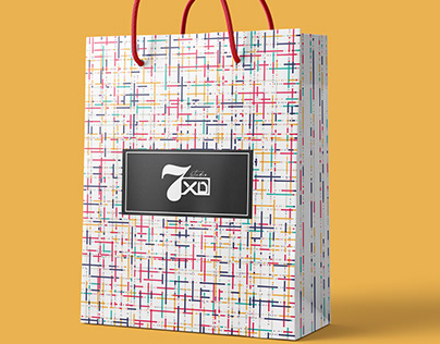 Shopping Bag Design | Paper Bag Design | Shopping Bag