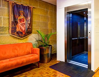 Interiors for Hamilton Elevators