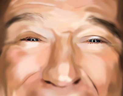 Robin Williams Tribute - Painting