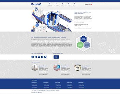 PureteQ corporate website