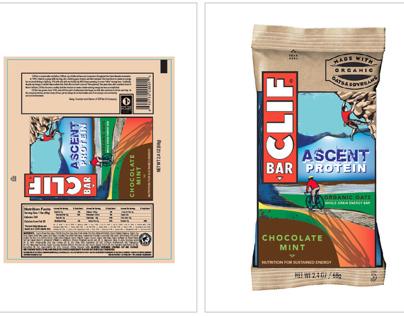 """Packaging Mechanical: CLIF Bar """"Ascent"""""""