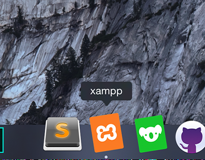 Xampp icon for Yosemite