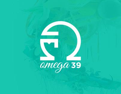 Omega 39 Single Page Portfolio Web Site