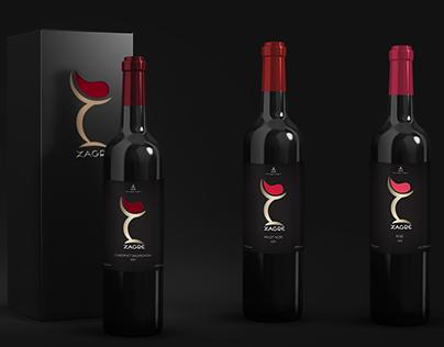 Zagre: Wine branding