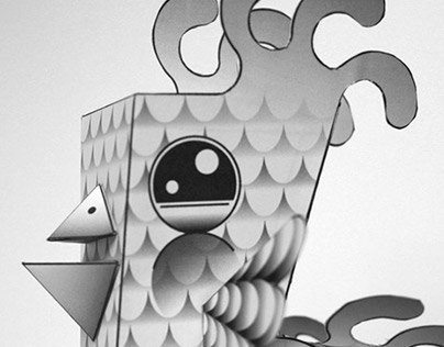 Birdish Paper Toy