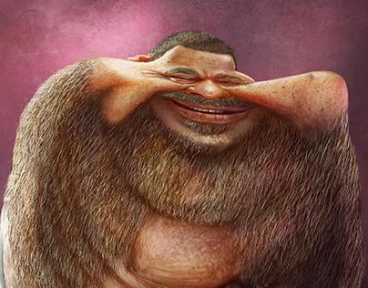Caricature - Arlindo Cruz