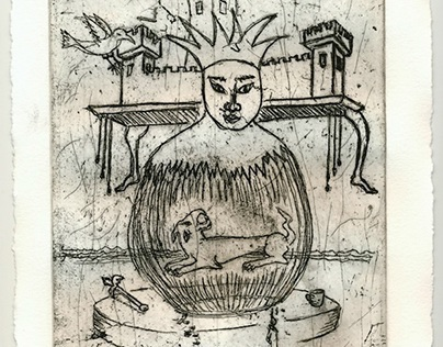 Kingdom Queen (copper etching edition of 10)
