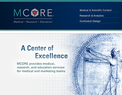 MCORE Branding and Microsite