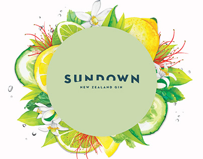 Sundown - New Zealand Gin