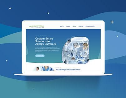 Allertech Laboratories - Web Design