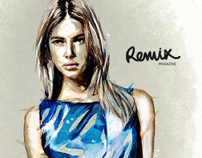 Remix Magazine / Illustrations