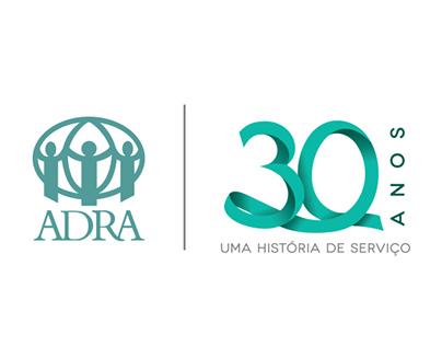 ADRA Brasil 30 Anos - Logo e Campanha