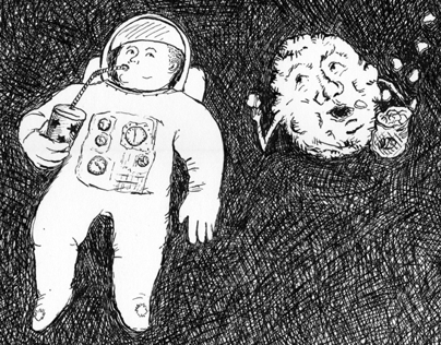 Asteroids and lost astronauts