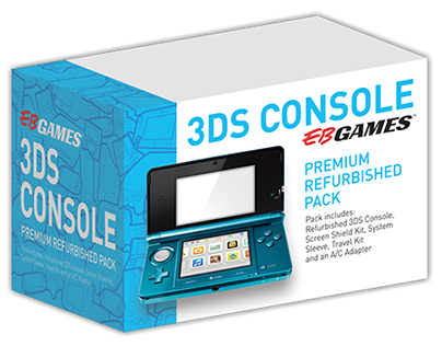 EB Games Refurbished Product Packaging