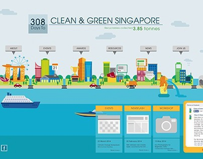 Clean and Green Singapore Website
