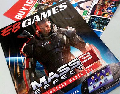 EB Games Catalogue Samples