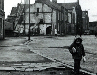 Troubled Belfast 1974, a time to forget.
