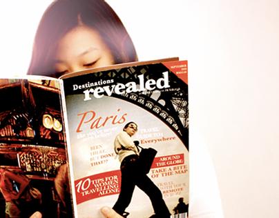 Paris, magazine spread