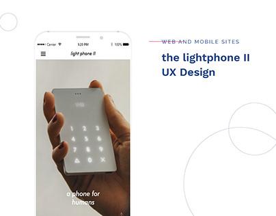 the light phone II - web sites