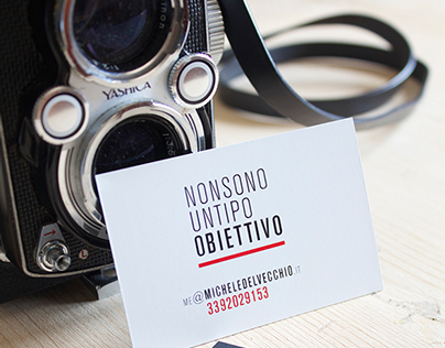 Simple Business Card for Photographer