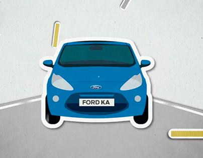 "Ford Ka 30"" Stop Motion"