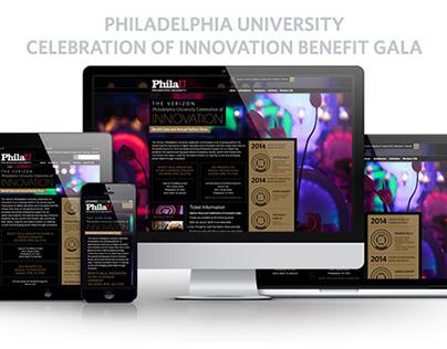 Celebration of Innovation Event Website