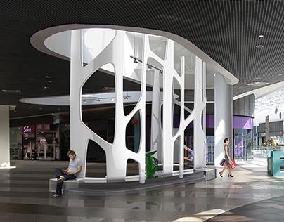 Concept for LETO Shopping Center