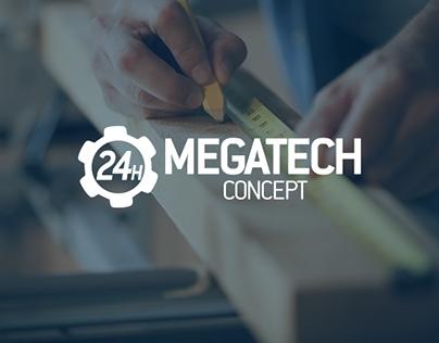 Megatech Concept // Corporate Identity // dopa.hu