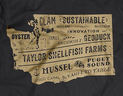 Taylor Shellfish Tshirt