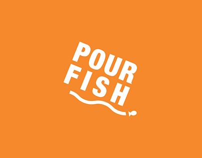 """""""Pour Fish"""" Conservation Mobile App Interface Design"""