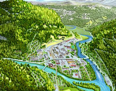 3D map of Otta