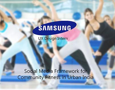 Social Media Framework for Community Fitness